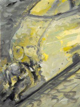 2007-2008, Von Zug überrollt, Hit by a train