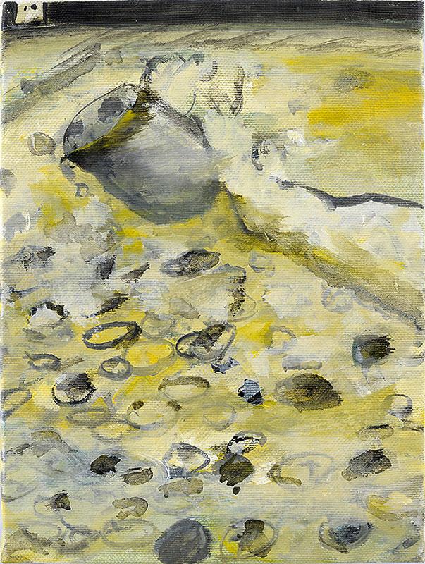 2007-2009, Vergiftet, mit Münzen im Wasser, Poisoned, with Coins in the Water
