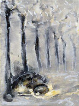 2007, Frontal gegen einen Baum, Straight into a Tree
