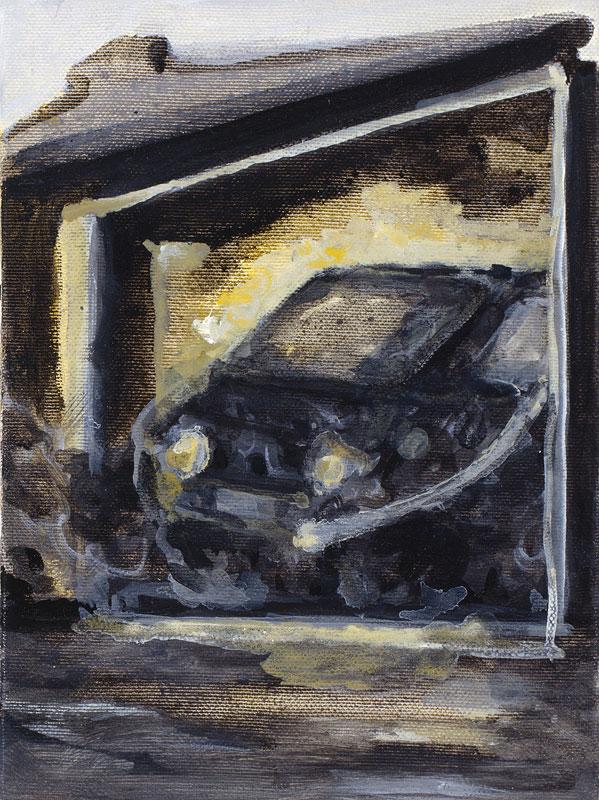 2007, In der Garage, erstickt, In the Garage, Suffocated