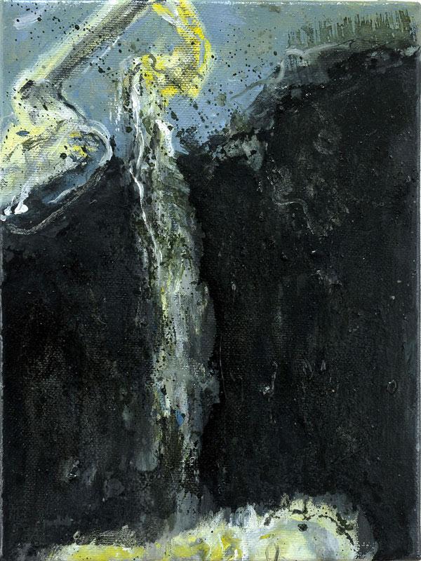 2010-2011, Nach 'Teorema' von P P Pasolini, lebendig beerdigt, After 'Teorema' by P P Pasolini, Buried Alive