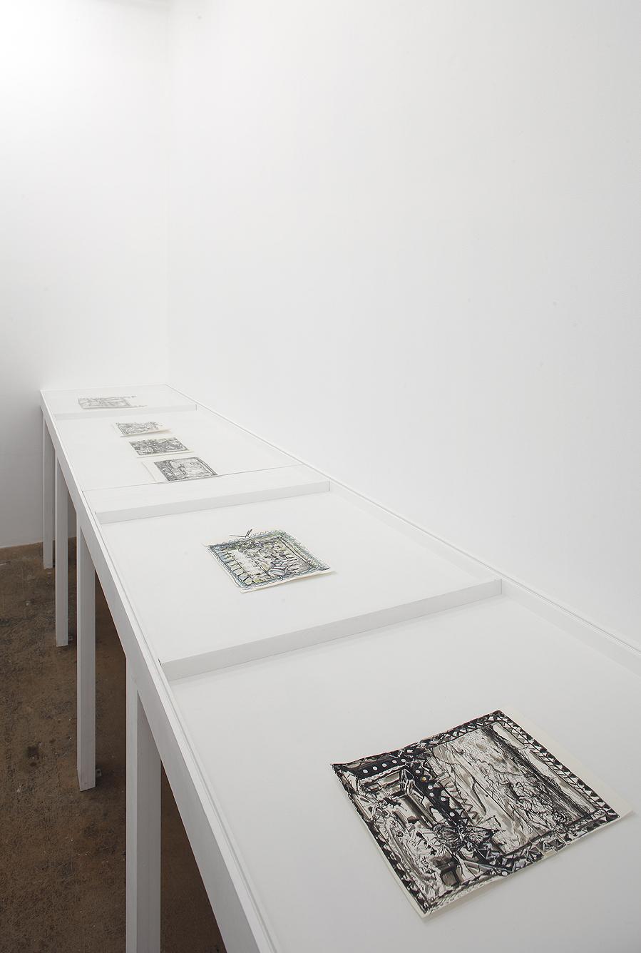 "Exhibition ""Y'a un truc qui masque l'horizon"", Jocelyn Wolff Gallery Paris, 23. March – 30. April 2010"