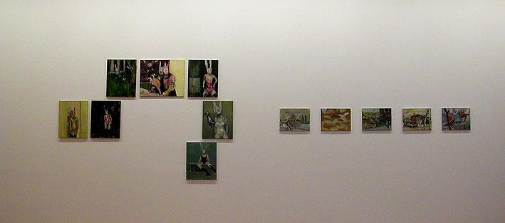"Exhibition ""Valérie Favre"", Centro de Arte Salamanca 2003"