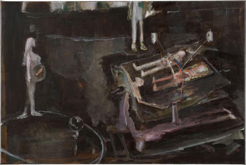 Ghost, 50 x 75,5 cm, 2014-2015