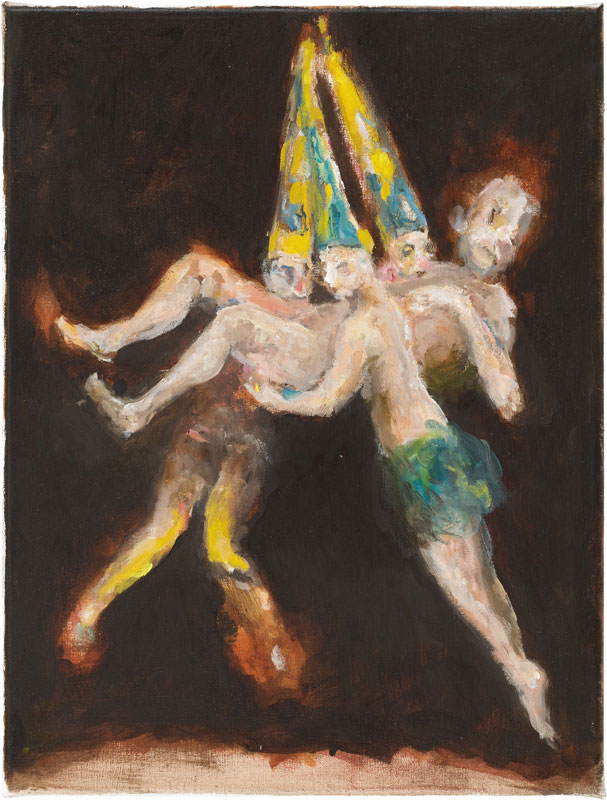 Ghost (after Witches' Flight by Goya), 40 x 30 cm, 2014-2015