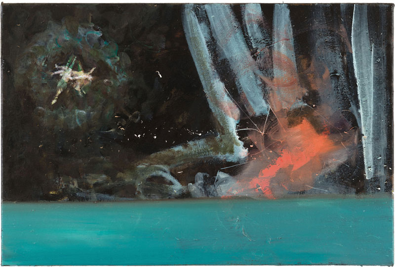 Ghost (after Witches' Flight by Goya), 40 x 60 cm, 2014-2015