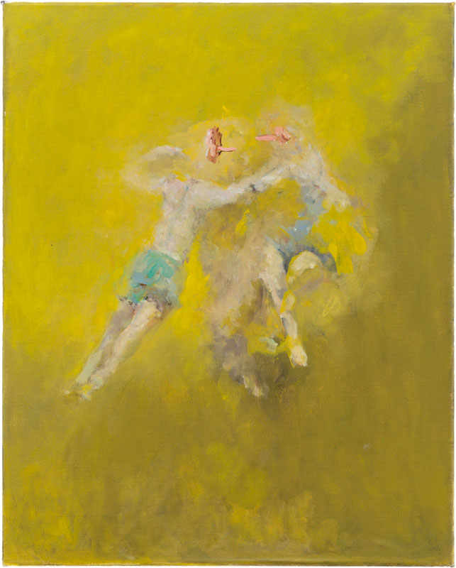 Ghost (after Witches' Flight by Goya), 60 x 50 cm, 2014-2015