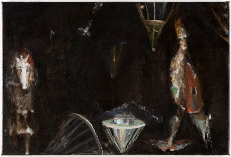Ghost (Fisch und Pferd), 40,5 x 60 cm, 2013-2014