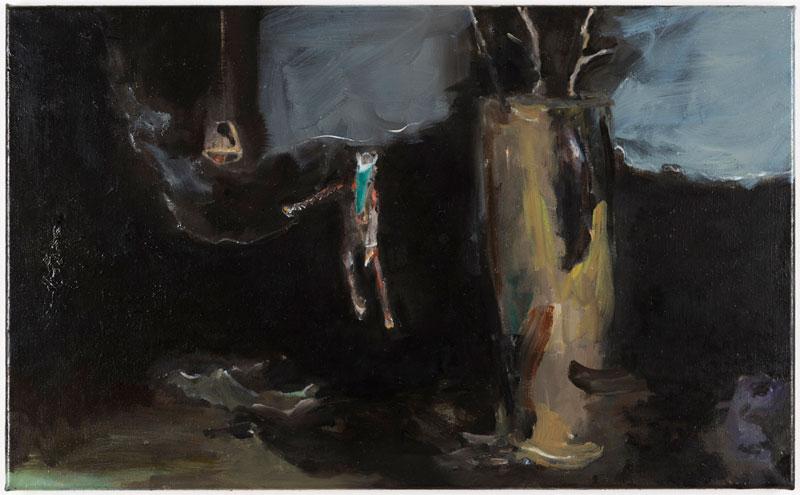 Ghost (Fliegendes Pferd), 44,5 x 73 cm, 2014