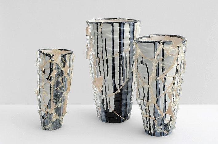 les petits reflets du monde, ceramic, silicon, paint, different sizes, 2009