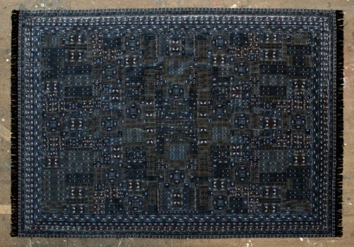 Tapis, 2015, Collage, 120 x 175 cm