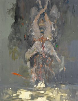 Kakerlake No. 2, 250 x 195 cm, oil on canvas, 2008