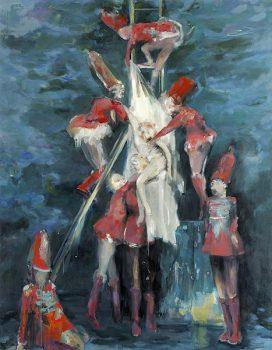 redescription no. 1, 250 × 195 cm, oil on canvas, 2007