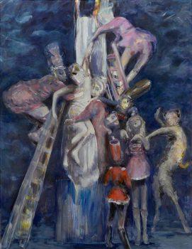 Redescription No. 3, 250 x 195 cm, oil on canvas, 2007