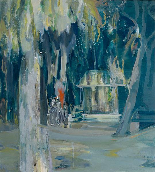 le diable probablement, 147 x 130 cm, oil on canvas, 2006