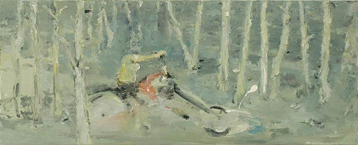 shooper, 20 x 50 cm, oil on canvas, 2007