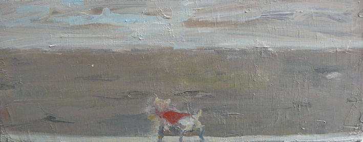 beau rivage, 20 x 50 cm, oil on canvas, 2008