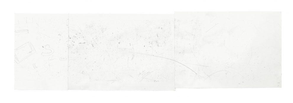 Trace, pen silkscreen, 2016