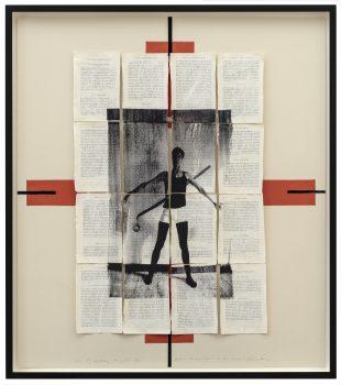 Eine El Lissitzky Komposition über Arthur Schopenhauer zu sein (2019)