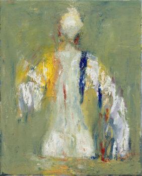 Engel, 2018, 40 x 30 cm