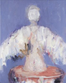 Engel, 2018, 50 x 40 cm