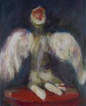 Engel, 2018, 60 x 50 cm