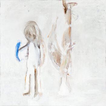 Ange, 2017, 200 x 200 cm