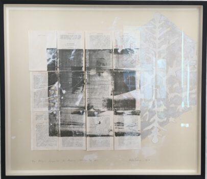 Eine Königin Komposition über Andersen zu sein, 2019/20, 64,5 x73 cm