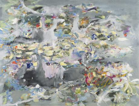 Fragilité des fleurs, Bouquet, 2016, oil on canvas, 130 x 170 cm